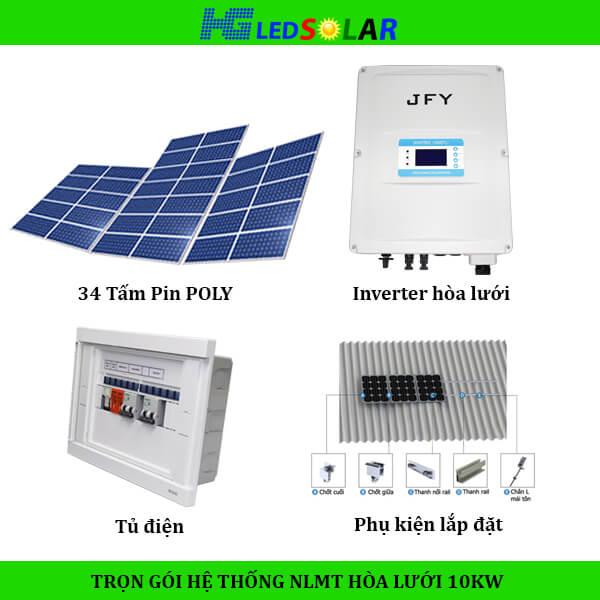 Bộ điện năng lượng mặt trời gia đình
