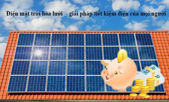 Điện mặt trời có thật sự sinh lời