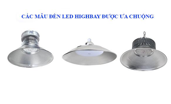 Các loại đèn Led highbay được sử dụng nhiều nhất