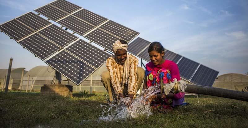 Sử dụng năng lượng mặt trời phục vụ tưới tiêu
