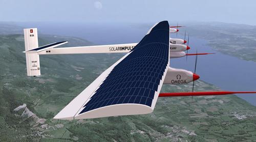 Máy bay bay bằng năng lượng mặt trời
