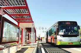 Trạm xe bus chiếu sáng tự động bằng năng lượng mặt trời