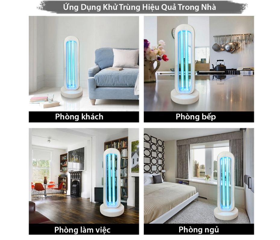 Ứng dụng đèn diệt khuẩn UVC