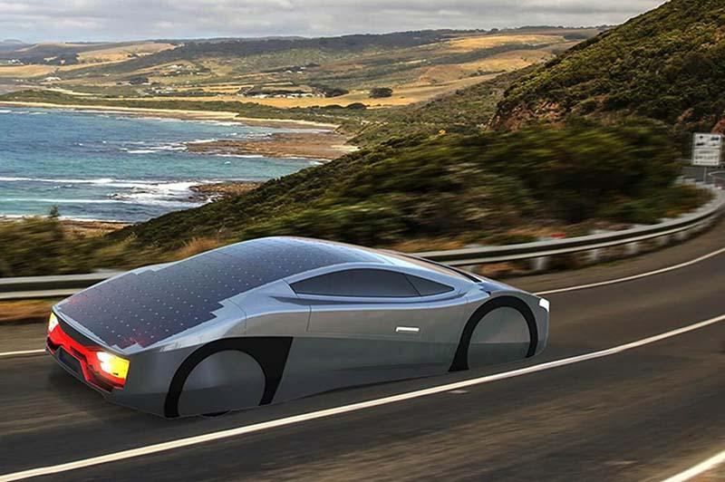 siêu xe chạy bằng năng lượng mặt trời