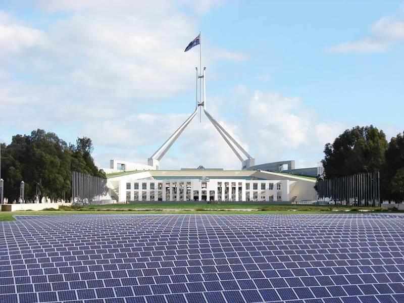 Thủ đô Canberra, Australia Ảnh: internet